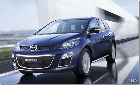 Mazda mostrará CX-7 reestilizado em Frankfurt