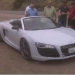 Seria esse o primeiro Audi R8 Spyder