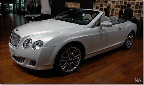 Salão de Frankfurt 2009 – Bentley Continental GTC Series 51