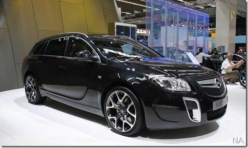 Salão de Frankfurt 2009: 2010 Opel Insignia OPC Sports Tourer