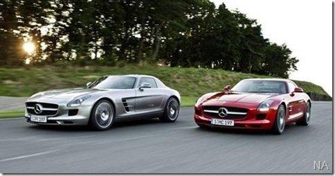 [Atualizado] Surgem as primeiras imagens da Mercedes SLS AMG
