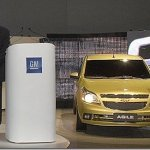Chevrolet apresenta o Agile em seu novo centro tecnológico