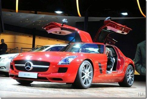 Mercedes SLS AMG chegará no ano que vem ao Brasil por encomenda