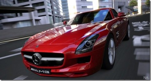 Video-teaser do Grand Turismo 5 mostra a Mercedes SLS AMG na pista