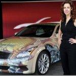 Cirque du Soleil inspira pintura de carro da Infiniti