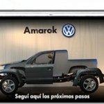 Volkswagem continua a liberar o desenho da Amarok aos poucos