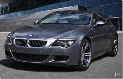 BMW M6 Competition será lançado em Frankfurt