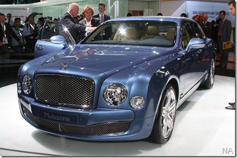 Salão de Frankfurt 2009 – Bentley Mulsane