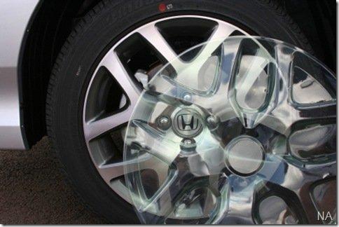 Honda passa a usar plástico PET nos protetores de rodas