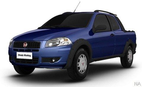 Nova Fiat Strada Working já está no configurador da Fiat