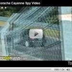 Video – Porsche Cayenne 2011 em testes no circuito de Nurbürgrin