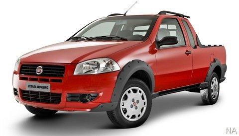 Fiat lança as três versões da Strada Working
