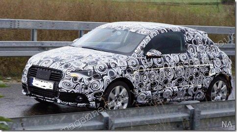 Novo Audi A1 é flagrado em testes na Europa