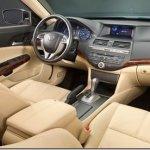 Primeiras imagens do interior do Honda Accord Crosstour são reveladas
