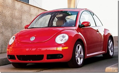 VW New Beetle terá nova geração dentro de 2 anos