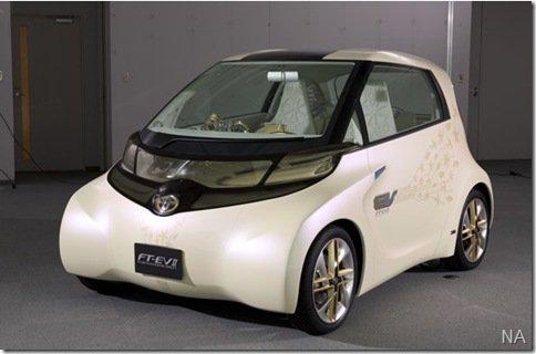 Toyota irá mostrar no Salão de Tóquio o FT-EV II, elétrico baseado no iQ