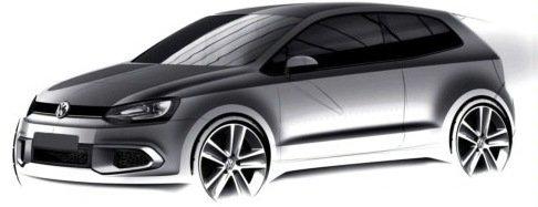 VW revela primeiro esboço do novo Polo GTI