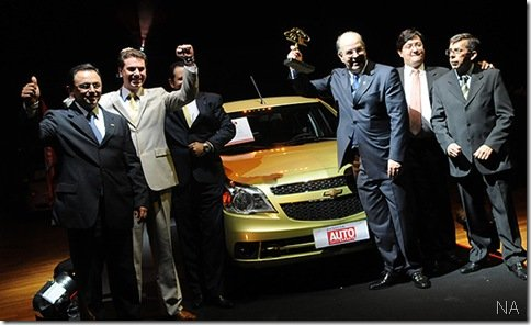 Agile leva o prêmio de Carro do Ano 2010 pela Revista Auto Esporte