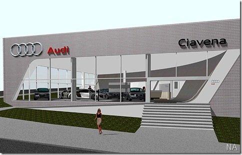 Audi lança novo padrão visual para suas concessionárias
