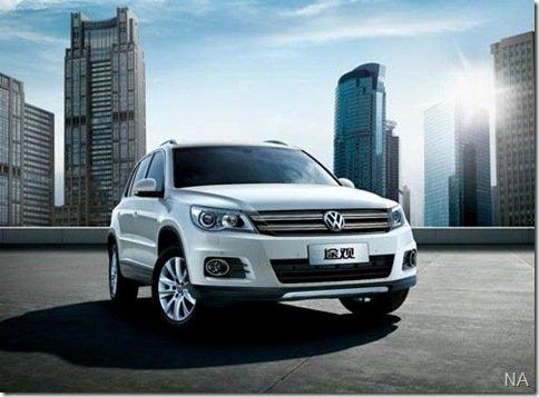 Salão de Guangzhou – Volkswagen revela Tiguan reestilizado