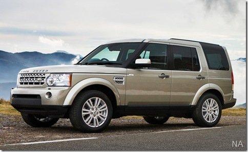 Land Rover Discovery4 chega mês que vem ao Brasil