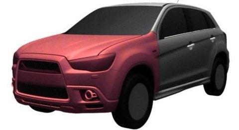 Imagens do futuro crossover compacto da Mitsubishi caem na rede