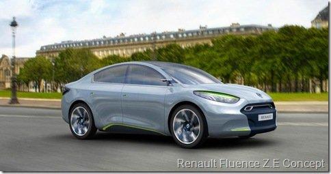 Renault Fluence terá versão elétrica e esportiva