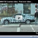 Nova geração do BMW série 3 é filmada em testes