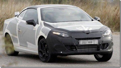 Renault Megane CC 2011 é flagrado em testes