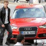 Audi A1 é flagrado na gravação de seu comercial com Justin Timberlake