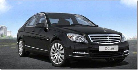 Mercedes deixa vazar fotos da próxima geração do Classe C