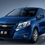 Chevrolet lança novo Sail na China