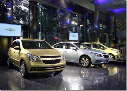GM terá 4 novidades neste ano