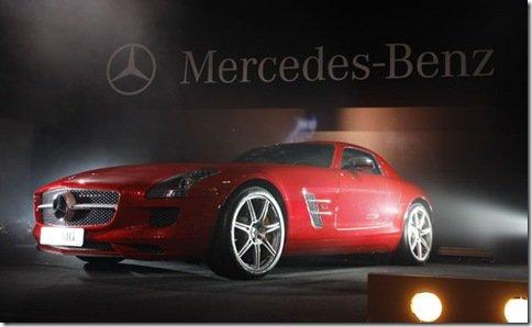Mercedes apresenta o SLS AMG no Brasil
