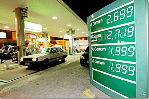 Governo reduz porcentagem de etanol na gasolina