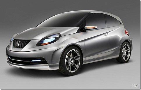 Honda também exibe conceito de carro para países emergentes na Índia