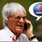 Bernie Ecclestone pode comprar a Saab