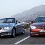 Linha 2011 dos BMW Serie 3 Cabrio e Coupé recebem melhoramentos