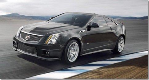Cadillac divulga as primeiras imagens oficiais do CTS-V Coupe