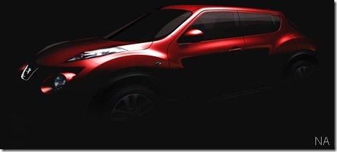 Nissan revela teaser do Juke, o Qazana de produção