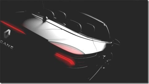 Renault divulga mais um teaser do novo Megane CC