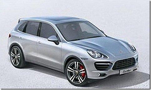 Novo Porsche Cayenne aparece mais uma vez no site da marca