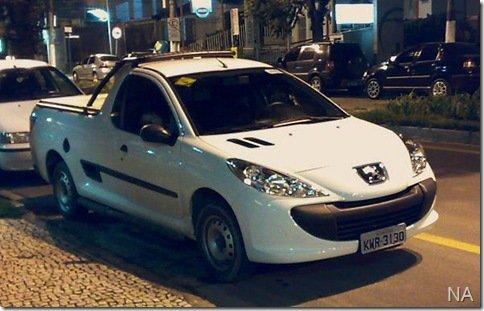 Leitor flagra Peugeot 207 Pick-up em Volta Redonda