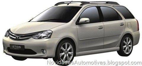 Toyota Etios terá versão perua e crossover