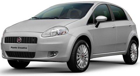 Fiat reduz preços de equipamentos do Punto 1.4