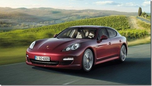 Porsche Panamera ganha versão com motor de seis cilindros