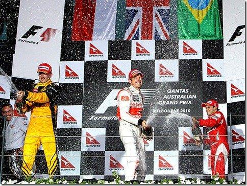 Jenson Button vence o GP da Austrália