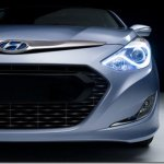 Hyundai mostra primeira imagem do Sonata Hybrid