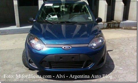 Novo Ford Fiesta é flagrado na Venezuela