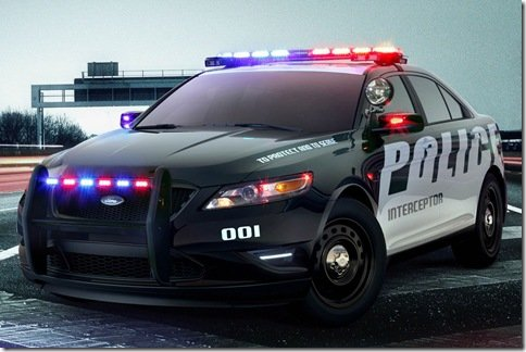 Ford apresenta o Taurus Police Interceptor